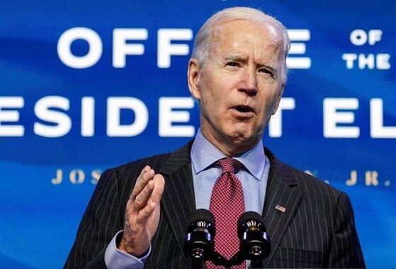 조 바이든 미국 대통령 당선인. [로이터=연합뉴스]