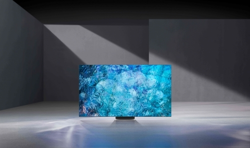 CES 2021에서 선보인 삼성전자의 'Neo QLED' TV  [삼성전자 제공. 재판매 및 DB 금지]