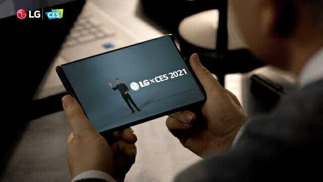 LG전자가 1월 11일 열린 온라인 'CES 2021'에서 'LG 롤러블' 티저 영상을 공개했다. (사진=LG전자)