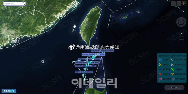 사진=남중국해전략태세감지계획(SCSPI)