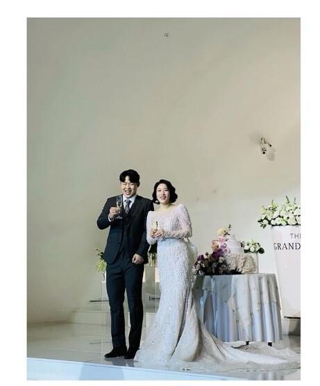 윤승열과 결혼한 김영희가 소감을 전했다. 사진=김영희 인스타그램