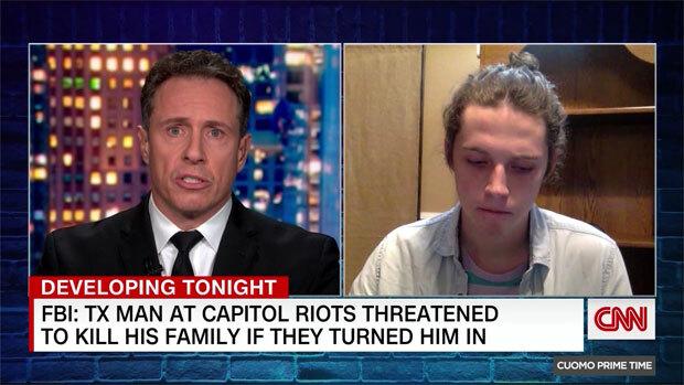 CNN 크리스 쿠오모 앵커과의 인터뷰를 보기 전까지 다른 가족들은 아들의 제보 사실을 까맣게 몰랐던 것으로 알려졌다. 방송 후 가족들은 아들의 휴대전화를 중지시켰다. 집에서 쫓겨난 아들은 안전 우려로 모처에 은둔 중이다.