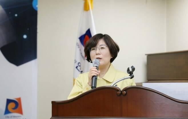 김보라 안성시장