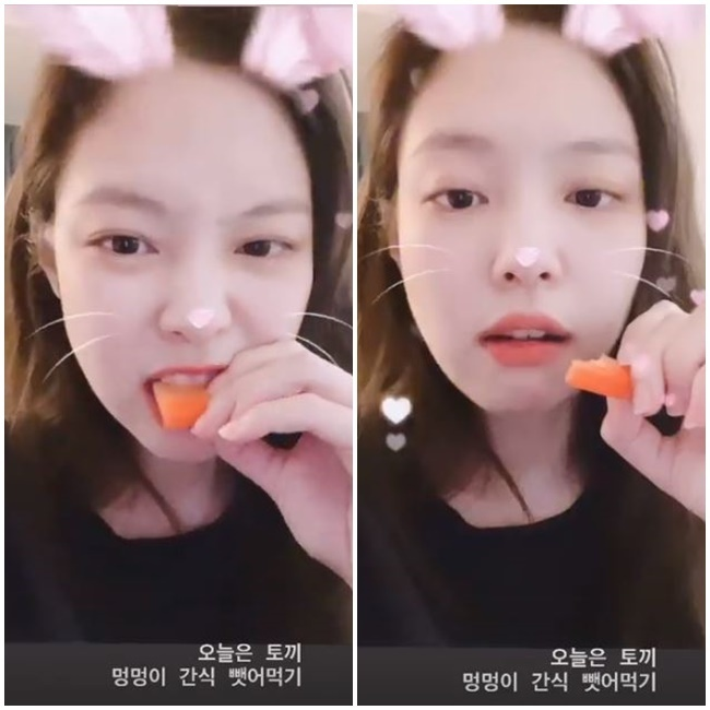 BLACKPINK Jenny Kim presents Wild carrot MukbangJenny Kim posted a video on February 17 on her personal Instagram story with an article entitled Leporids today, I take a snack and eat it.In the public footage, Jenny Kim is enjoying a delicious Wild carrot, especially with her attention focused on the lovely Jenny Kim.Meanwhile, Jenny Kim became the number one player in the girl groups personal brand reputation in February, making her popular.He also opened his personal YouTube Jennierubyjane Official on January 13th.Currently, Jenny Kim YouTube Jennierubyjane Official has 5.7 million subscribers.