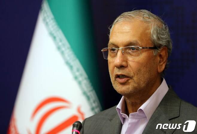 알리 라비에이 이란 정부 대변인. © AFP=뉴스1