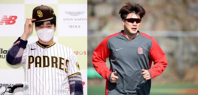 미국 유력지 선정 '주목해야 할 선수' 상위랭킹에 뽑힌 김하성(왼쪽)과 김광현.