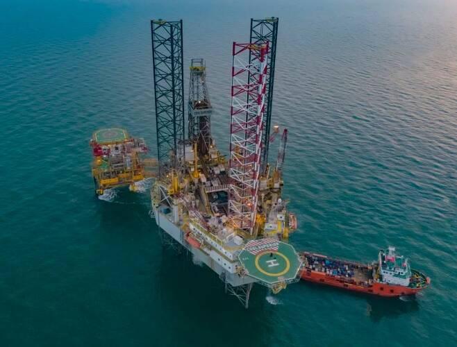 중국, 보하이서 또다시 대형 석유·가스전 발견 [중국해양석유(CNOOC) 위챗계정 캡처. 재판매 및 DB 금지]