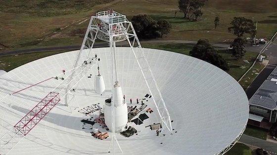 호주 캔버라의 무선 안테나 딥 스페이스 스테이션 43(DSS43). [사진 NASA]