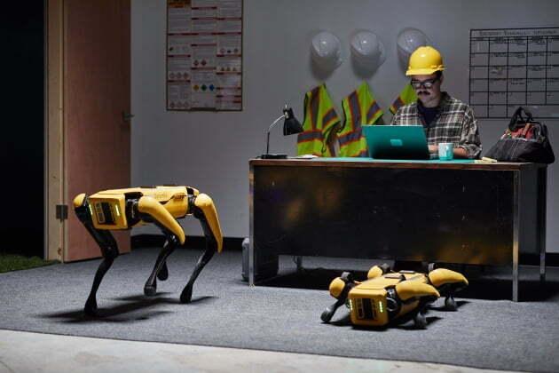 (사진) 현대차그룹이 인수하는 미국 보스턴 다이내믹스의 4족 보행 로봇 '스팟'. /현대차그룹 제공