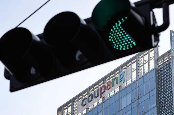 ⓒ연합뉴스쿠팡은 2월12일 뉴욕 증권거래소(NYSE) 상장을 위한 신고서를 제출했다는 사실을 발표했다.