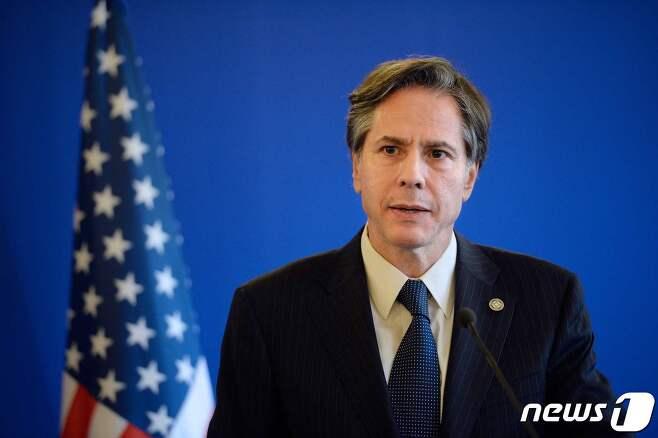 토니 블링컨 미국 국무장관 <자료사진> © AFP=뉴스1