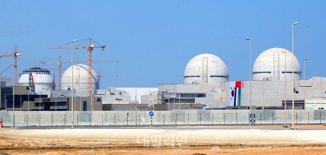 아랍에미리트에 건설 중인 바라카 원전 전경. ⓒ뉴시스