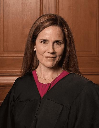 작년 10월 인준된 에이미 배럿 대법관. 이번 판결엔 참여하지 않았다.