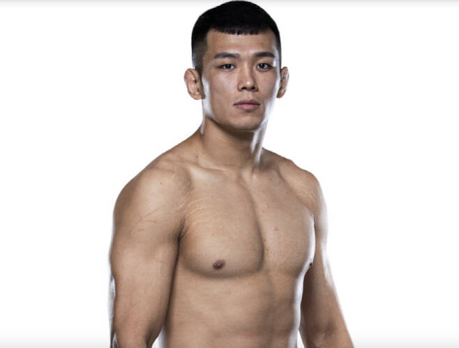 한국인 UFC 파이터 정다운. 사진=UFC