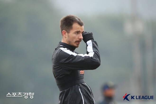 스테판 무고사.  프로축구연맹 제공