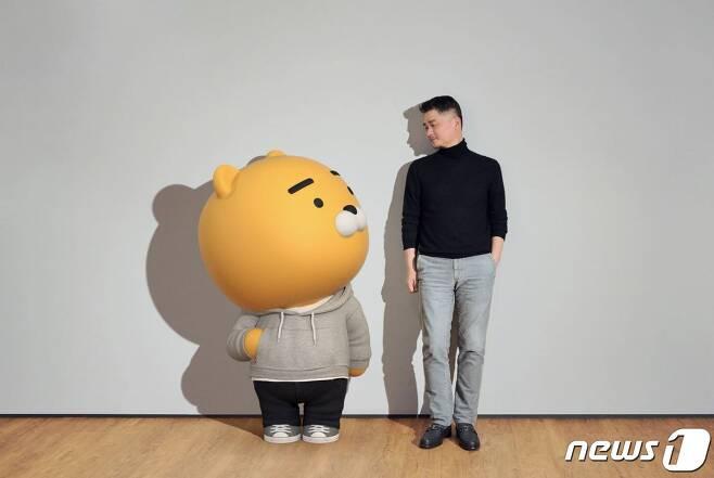 라이언과 브라이언(김범수 카카오 이사회 의장)(카카오 브런치 제공)© 뉴스1