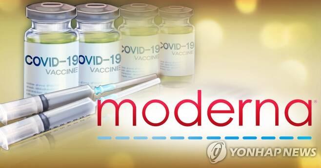 미국 제약회사 모더나 코로나19 백신 (PG) [장현경 제작] 일러스트