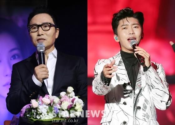김종환(왼쪽)과 임영웅 /사진=스타뉴스
