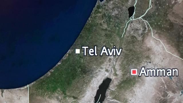 사실상 `집단 면역`을 선언한 이스라엘, 화면에 텔아비브 지명이 표기돼있다