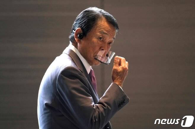 아소 다로 일본 부총리 겸 재무상 © AFP=뉴스1 © News1 우동명 기자