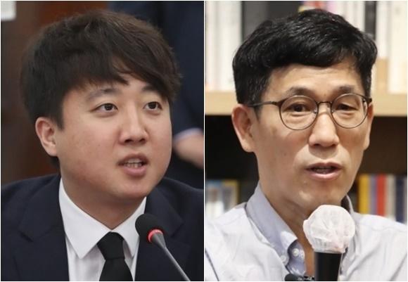 이준석 진중권 - 뉴스1