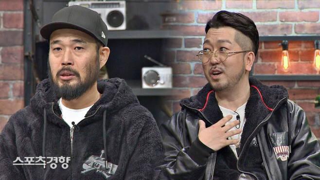 2019년 12월 '슈가맨'에 출연해 45RPM으로 활동을 재개한 이현배(왼쪽). JTBC 제공