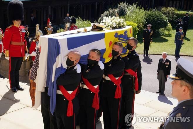 필립공 장례식 [로이터=연합뉴스]