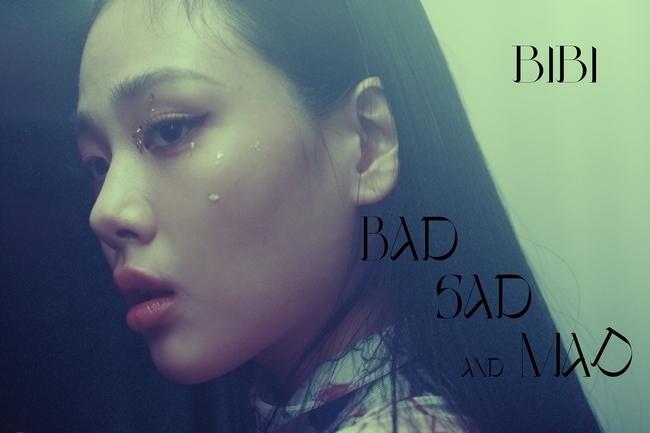 28일(수), 비비 미니 앨범 'BAD SAD AND MAD' 발매   인스티즈