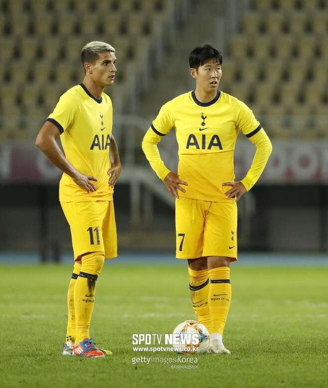 ▲ 라멜라(왼쪽)가 손흥민(오른쪽)과 토트넘에서 활약하는 시즌은 이번이 마지막일 수 있다