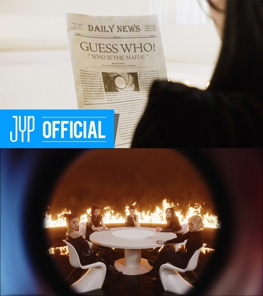 Fi. Ah. In the Morning (Mafia in the Morning) released a music video called Teaser.The title song of the new mini album GUESS WHO (Ges Who) released on the official SNS channel at 0:00 on the 27th is getting a hot response.This video has a special atmosphere with a screen composition focused on ITZY, a five-color charismatic eye, and a tense sound.The members sitting around the roundtable in front of the burning flame stimulated the curiosity of the viewers.From Ryujin between the show window mannequins, GUESS WHO! WHO IS THE MAFIA?, A smile at the newspaper, a premonition that seems to wait for a questionable person, a dress in a colorful pattern, and a strange expression toward the camera, each of them showed off their intense characters and amplified their curiosity about the main movie.The title song Ma. Fi. Oh. In the Morning was inspired by the setting in the Mafia game, where someone is inevitably destined when morning comes, adding fun elements.ITZY sings a confident message that goes to the veil and takes away the heart of the loved one.A group of famous artists from home and abroad, including Earattack, who worked with leading K-pop artists such as Twice and Stray Kids, joined forces with JYP Entertainments representative producer Park Jin-young to complete another global masterpiece.ITZY will release its new mini album GUESS WHO at 1 pm on the 30th.An hour earlier, at 12 pm, an online fan showcase will be held on the official YouTube channel and the performance of the new song Ma. Fi. Ah. In the Morning will be released for the first time.copyright holder c