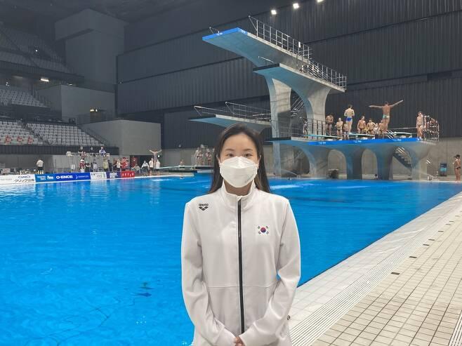 여자 10m 플랫폼에서 도쿄올림픽 출전권 획득한 권하림. [대한수영연맹 제공. 재판매 및 DB 금지]