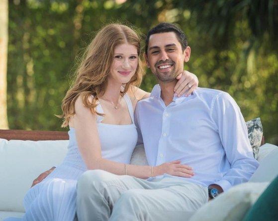 빌 게이츠와 아내 멀린다의 장녀 제니퍼 게이츠와 그의 약혼자 나엘 나세르. 나세르는 이집트 부호의 아들이자 이집트를 대표하는 프로 승마 선수다. [제니퍼 게이츠 인스타그램 캡처]