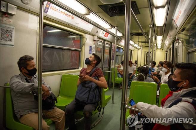 멕시코시티 지하철 [AFP=연합뉴스]