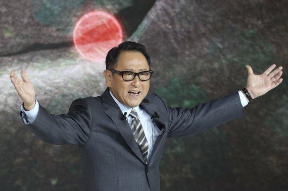 도요타의 도요타 아키오 사장 겸 최고경영자. AP뉴시스