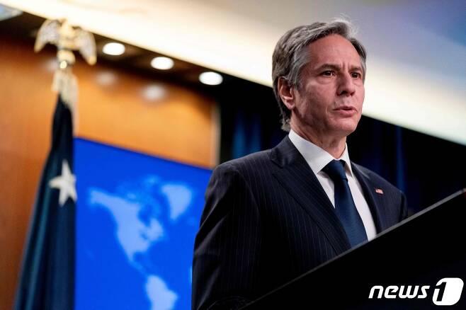토니 블링컨 미국 국무장관. © AFP=뉴스1 자료 사진