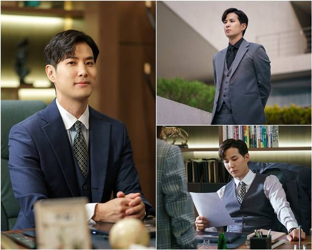 JTBC 새 수목드라마 '월간 집' 제작진은 유자성으로 분한 김지석의 스틸컷을 공개했다. /드라마하우스스튜디오, JTBC스튜디오 제공