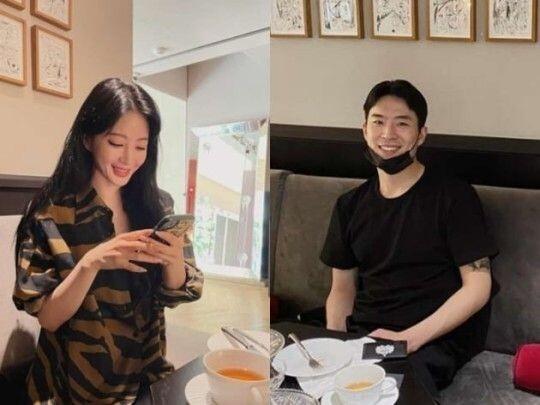 한예슬이 연극배우 출신 배우 류성재와 핑크빛 연애중이다. /사진=한예슬 인스타그램