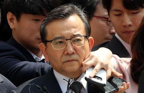 김학의 전 법무부 차관의 모습. [연합]