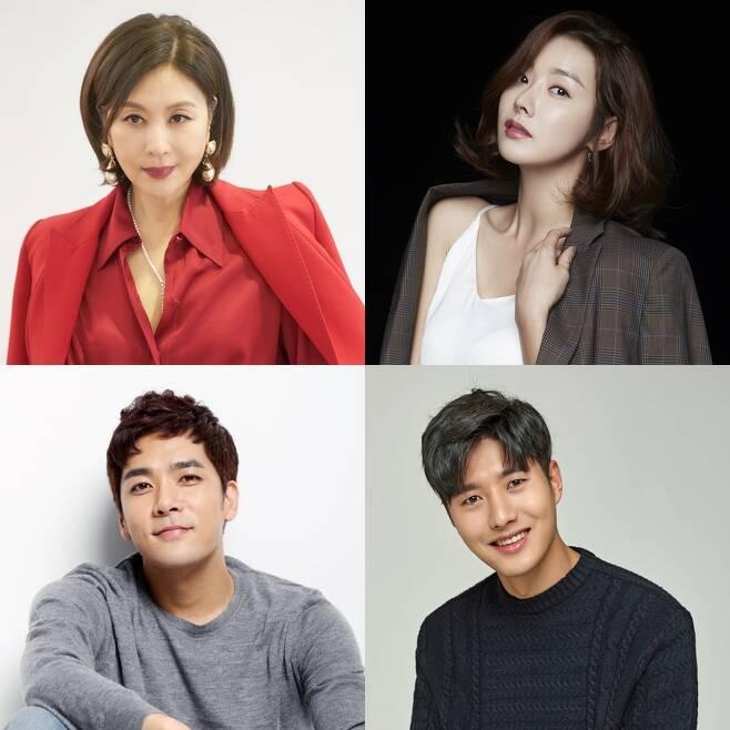 KBS 2TV 새 일일드라마 '빨강 구두' 출연진 [각 소속사 제공. 재판매 및 DB 금지]