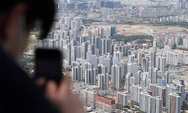 위례신도시 신축 아파트 단지. 연합뉴스