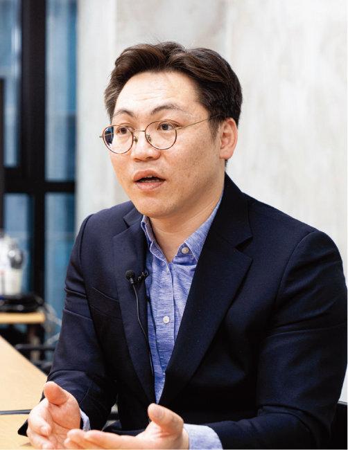 베스트셀러 '마법의 연금 굴리기' 저자 김성일. [홍태식]