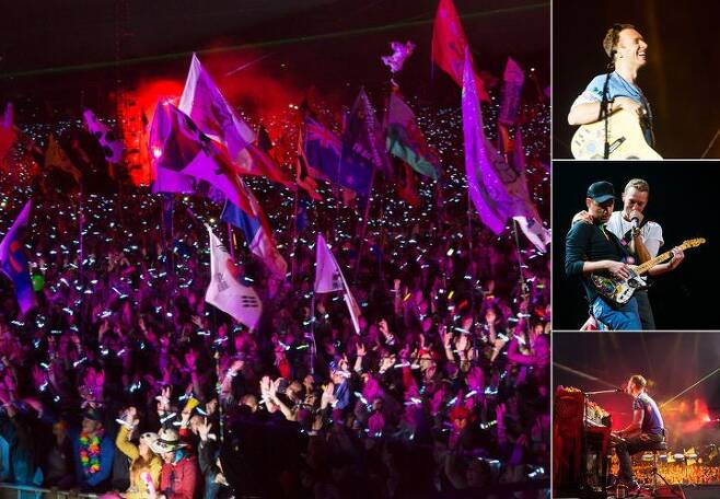 출처: Coldplay Official Website