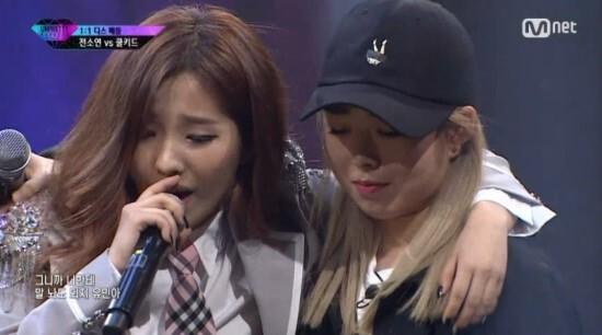 출처: Mnet '언프리티 랩스타' 방송화면 캡처