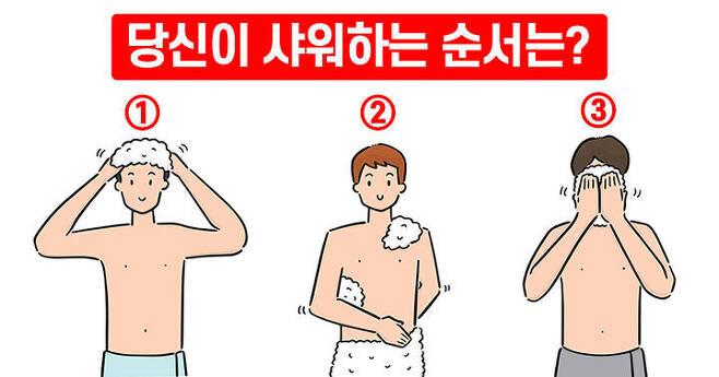 출처: 당신은 샤워할 때 어디부터 씻나요?