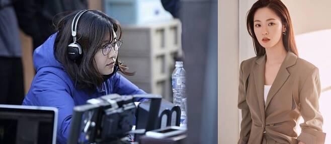 출처: 노덕 감독(왼쪽), 배우 전여빈. 사진 롯데엔터테인먼트, 넷플릭스