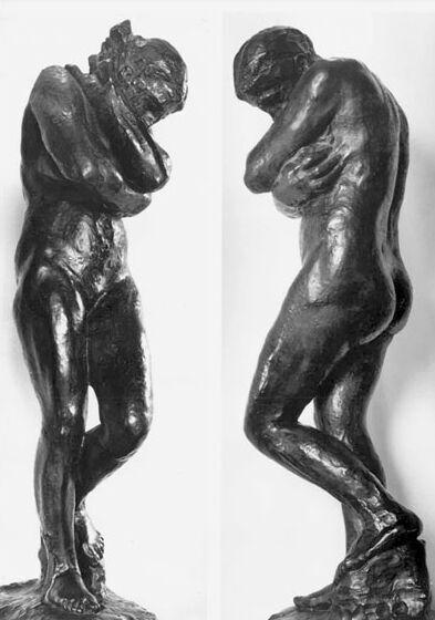 출처: Auguste Rodin, EVE, 1881.