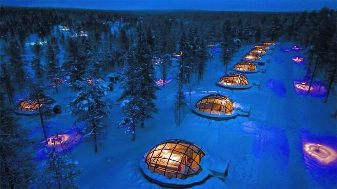 출처: ⓒ Hotel Kakslauttanen