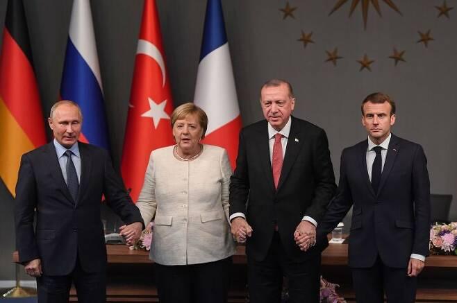 출처: OZAN KOSE, AFP via Getty Images