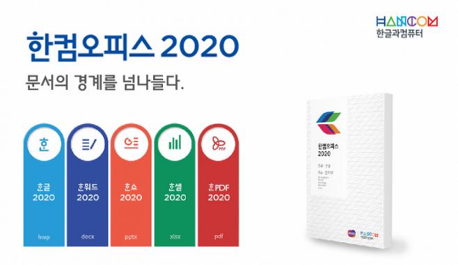 출처: 2019년 출시된 한컴오피스 2020 / 자료=한글과컴퓨터
