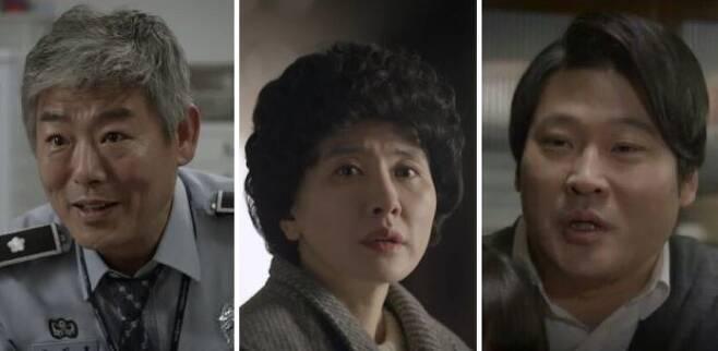출처: (왼쪽부터) 성동일 - 이일화 - 최무성